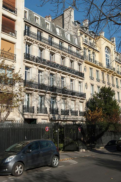 84 Avenue Foch, Paris, France, Gestapo headquarters