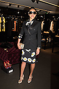 JACI REID, Anna Scolaro hosts a charity shopping event at  Dolce and Gabbana, 175 Sloane St. London. In aid of TeamFox.org for Parkinsons. 10 February 2016