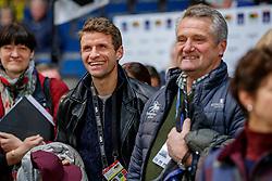 MÜLLER Thomas (Fussballer), HOLKENBRINK Wilhelm<br /> <br /> Impression am Rande<br /> Preis der Firma Stihl<br /> Int. Dressurprüfung - CDI4*<br /> Aufgabe: FEI Grand Prix 2009, Rev. 2014<br /> Qualifikation zum Grand Prix Special<br /> 16. November 2019<br /> © www.sportfotos-lafrentz.de/Stefan Lafrentz