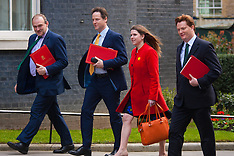 2015-03-24 UK Cabinet gathers at Downing Street for weekly meeting