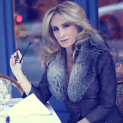 Photo shoot with Sonja Morgan in NYC, by celebrity fashion photographer, Christopher Free
