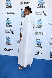 February 23, 2019 - Santa Monica, CA, USA - LOS ANGELES - FEB 23:  Kiki Layne at the 2019 Film Independent Spirit Awards on the Beach on February 23, 2019 in Santa Monica, CA (Credit Image: © Kay Blake/ZUMA Wire)