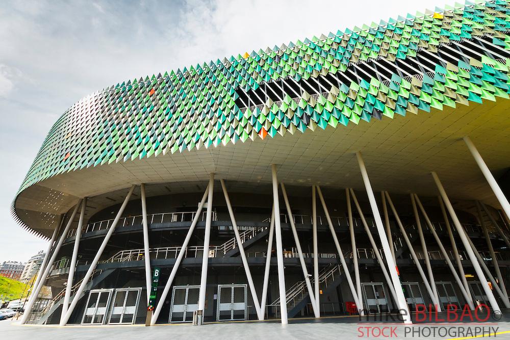 Bilbao Arena o Palacio de Deportes de Bilbao. Bilbao. Bizkaia, Pais Vasco, España.
