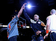 Feb. 4, 2012; Phoenix, AZ, USA; Phoenix Suns guard Michael Redd (22) announced prior to the first half of a game against the Charlotte Bobcats at the US Airways Center. The Suns defeated the Bobcats 95 - 89. Mandatory Credit: Jennifer Stewart-US PRESSWIRE..