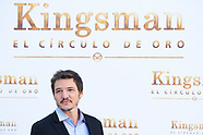 092017 'Kingsman: The Secret Service'  Madrid Photocall