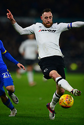 RICHARD KEOGH DERBY COUNTY Derby county v Leeds United, Sky Bet championship Pride Park, Wednesday 21st February 2018, Score 2-2 Photo:Mike Capps