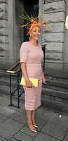 03/08/2017   Repro free   Elaine Kellerher Kilgarvan Kerry at Hotel Meyrick for Galway's 'Most Stylish Lady' Competition, at a glamorous evening reception in the Parlour Lounge of Hotel Meyrick on Ladies Day of the Galway Races. Head judge this year was the stunning Lorraine Keane,  assisted by fellow fashion experts Mandy Maher,owner of Catwalk Modelling Agency and Irish model Mary Lee  .  Photo: Andrew Downes, xposure