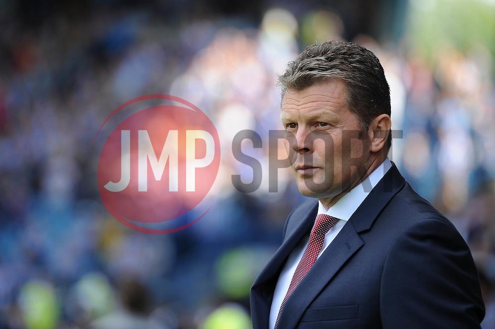 Bristol City manager, Steve Cotterill - Mandatory byline: Dougie Allward/JMP - 07966386802 - 08/08/2015 - FOOTBALL - Hillsborough Stadium -Sheffield,England - Sheffield Wednesday v Bristol City - Sky Bet Championship