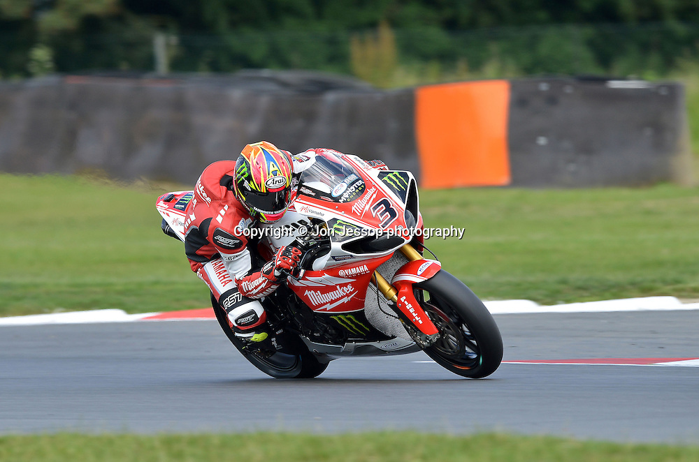 #3  Josh Brookes Milwaukee Yamaha British Superbikes