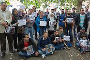refugee family reunion protest