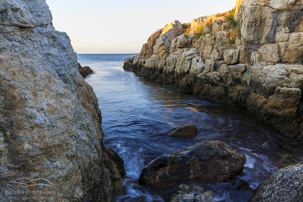 """The """"Devil's Dance Floor"""" on Appledore Island, Maine, in the Isles of Shoals."""