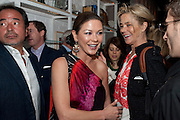 CATHERINE ZETA JONES, Dom PŽrignon with Alex Dellal, Stavros Niarchos, and Vito Schnabel celebrate Dom PŽrignon Luminous. W Hotel Miami Beach. Opening of Miami Art Basel 2011, Miami Beach. 1 December 2011. .<br /> CATHERINE ZETA JONES, Dom P&eacute;rignon with Alex Dellal, Stavros Niarchos, and Vito Schnabel celebrate Dom P&eacute;rignon Luminous. W Hotel Miami Beach. Opening of Miami Art Basel 2011, Miami Beach. 1 December 2011. .