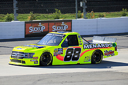March 23, 2019 - Martinsville, VA, U.S. - MARTINSVILLE, VA - MARCH 23:   #88: Matt Crafton, ThorSport Racing, Ford F-150 Ideal Door/Menards during qualifying for the NASCAR Gander Outdoors Truck Series TruNorth Global 250 race on March 23, 2019 at the Martinsville Speedway in Martinsville, VA.  (Photo by David J. Griffin/Icon Sportswire) (Credit Image: © David J. Griffin/Icon SMI via ZUMA Press)