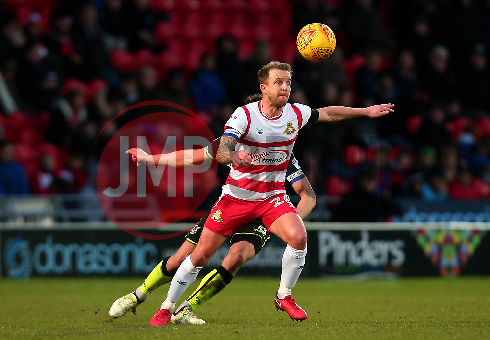 James Coppinger of Doncaster Rovers - Mandatory by-line: Robbie Stephenson/JMP - 27/01/2018 - FOOTBALL - The Keepmoat Stadium - Doncaster, England - Doncaster Rovers v Bristol Rovers - Sky Bet League One