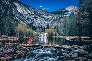 Mirror Lake, Yosemite National Park, California, USA