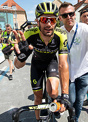 Winner Luka Mezgec (SLO) of Mitchelton - Scott after the 2nd Stage of 26th Tour of Slovenia 2019 cycling race between Maribor and Celje (146,3 km), on June 20, 2019 in  Slovenia. Photo by Vid Ponikvar / Sportida