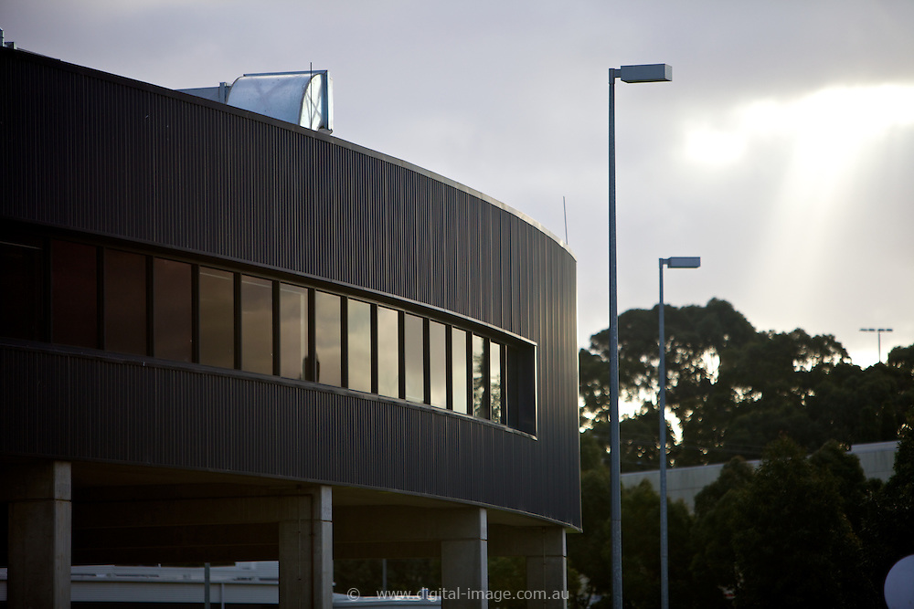 Office pod at the Australian Synchrotron, external view