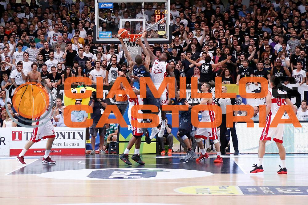 Joao Beto Gomes<br /> Dolomiti Energia Aquila Basket Trento - EA7 Emporio Armani Olimpia Milano<br /> Semifinale Gara 4, Lega Basket Serie A 2016/2017<br /> PalaTrento 31/05/2017<br /> Foto Ciamillo-Castoria / M.Brondi