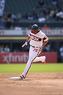 CHICAGO - SEPTEMBER 10:  Jose Abreu #79 of the Chicago White Sox rounds the bases after hitting his 30th home run of the season against the San Francisco Giants on September 10, 2017 at Guaranteed Rate Field in Chicago, Illinois.  The White Sox defeated the Giants 8-1.  (Photo by Ron Vesely) Subject:   Jose Abreu