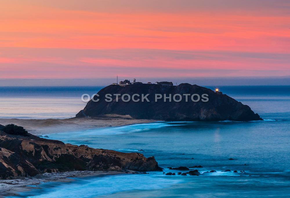 Point Sur Lighthouse in Big Sur California