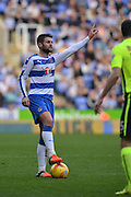 Reading's Oliver Norwood prepares to take free kick during the Sky Bet Championship match between Reading and Brighton and Hove Albion at the Madejski Stadium, Reading, England on 31 October 2015. Photo by Mark Davies.