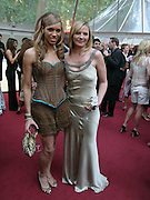 Javine and Kim Cattrall. Glamour Women Of The Year Awards 2005, Berkeley Square, London.  June 7 2005. ONE TIME USE ONLY - DO NOT ARCHIVE  © Copyright Photograph by Dafydd Jones 66 Stockwell Park Rd. London SW9 0DA Tel 020 7733 0108 www.dafjones.com