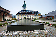 Schloss Elmau Hotel at Elmau in the Bavarian Alps, Germany