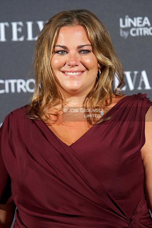 Caritina Goyanes attends Telva Awards 2012 at Hotel Palace on November 6, 2012 in Madrid, Spain