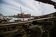 Staten Island Boat Graveyard<br /> Paddler - Lauren Bobowski
