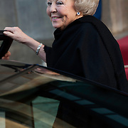 Uitreiking van de Prins Claus Prijs 2014 n het Koninklijk Paleis in Amsterdam.<br /> <br /> Presentation of the Prince Claus Award in 2014 n the Royal Palace in Amsterdam.<br /> <br /> op de foto / On the photo: <br />  Prinses Beatrix / Princes Beatrix