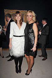 Left to right, ANASTASIA VIRGANSKAYA and KSENIA GORBACHEV grandaughters of Mikhail Gorbachev  at a cocktail party and auction to launch the forthcoming celebrations for Mikhail Gorbachev's 80th birthday held at Christie's, 8 King Street, London on 3rd February 2011.