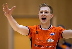 04-06-2016 NED: Nederland - Duitsland, Doetinchem<br /> Nederland speelt de tweede oefenwedstrijd in Doetinchem en verslaat Duitsland opnieuw met 3-1 / Daan van Haarlem #1