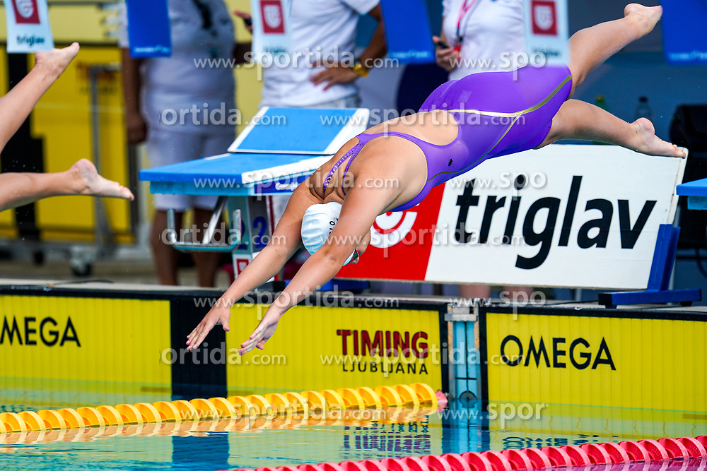 "Gaja Lucija Valant of Slovenia during 43rd International Swimming meeting ""Telekom 2019"", on July 13, 2019 in Radovljica, Slovenia. Photo by Matic Klansek Velej / Sportida"