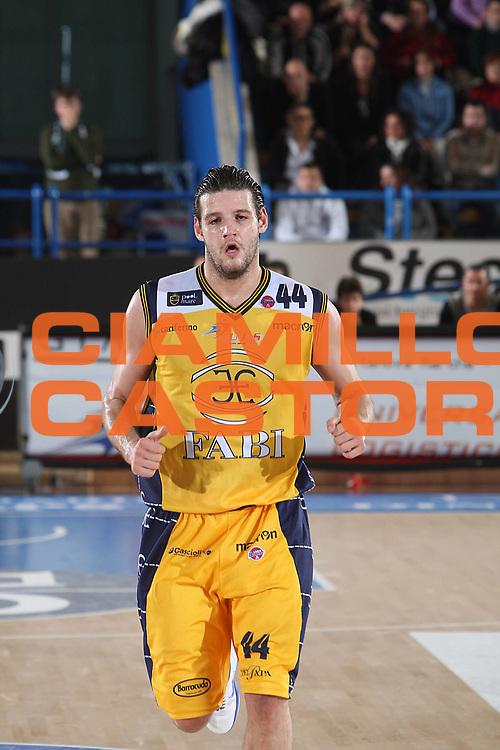 DESCRIZIONE : Porto San Giorgio Lega A 2010-11 Fabi Montegranaro Bennet Cantu <br /> GIOCATORE : Dejan Ivanov<br /> SQUADRA : Fabi Montegranaro <br /> EVENTO : Campionato Lega A 2010-2011<br /> GARA : Fabi Montegranaro Bennet Cantu<br /> DATA : 11/12/2010<br /> CATEGORIA : ritratto<br /> SPORT : Pallacanestro<br /> AUTORE : Agenzia Ciamillo-Castoria/C.De Massis<br /> Galleria : Lega Basket A 2010-2011<br /> Fotonotizia : Porto San Giorgio Lega A 2010-11 Fabi Montegranaro Bennet Cantu <br /> Predefinita :