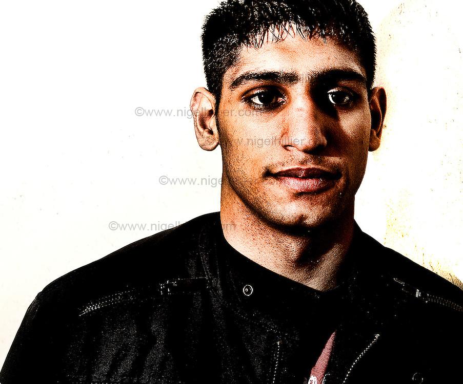 Amir Khan shot on a pr job for asda, 2006