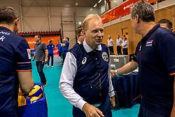 20-05-2018 NED: Netherlands - Slovenia, Doetinchem<br /> First match Golden European League / Referee