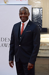 Paterson Joseph arrives for the BAFTA TV Awards at the Theatre Royal, London, United Kingdom. Sunday, 18th May 2014. Picture by Andrew Parsons / i-Images