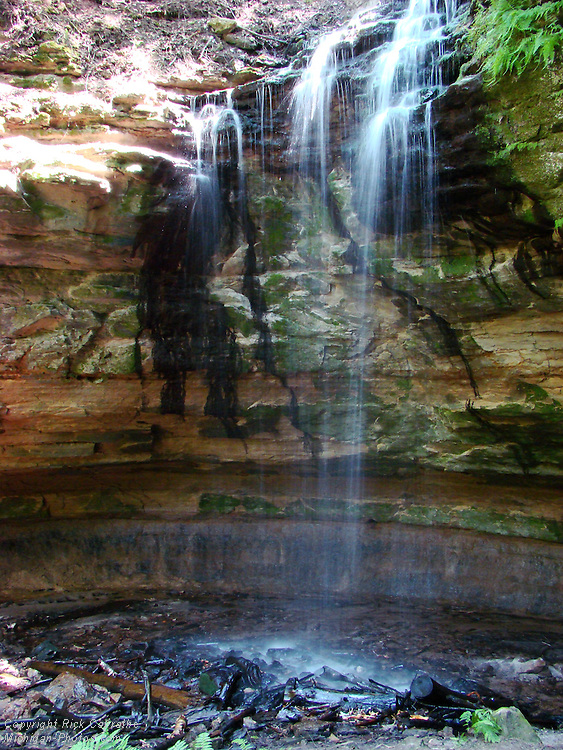 Tannery Falls, Munising, Michigan's Upper Peninsula