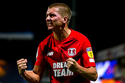 Sam Ling of Leyton Orient celebrates at full time - Mandatory by-line: Ryan Crockett/JMP - 20/08/2019 - FOOTBALL - One Call Stadium - Mansfield, England - Mansfield Town v Leyton Orient - Sky Bet League Two
