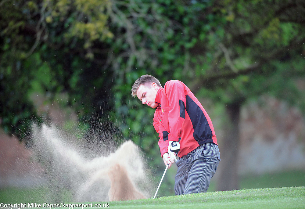 Alex Lowes in Action, Leon Haslam Sparks Golf Classic, Harrowden Hall Wellingborough, Northants 11th June 2013