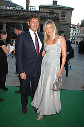 AMANDA WAKELEY and HUGH MORRISON at the Tanqueray No.TEN cocktail party held at No1 Piazza, Covent Garden, London on 10th June 2008.<br /><br />NON EXCLUSIVE - WORLD RIGHTS