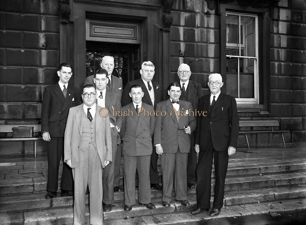 02/11/1955<br /> 11/02/1955<br /> 02 November 1955<br /> <br /> Deputation to An Taoiseach  re Employment - From West Cork