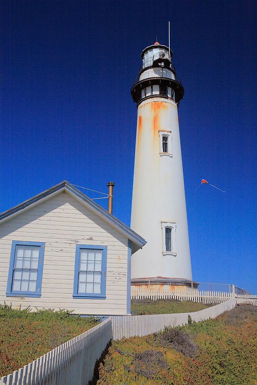 Pigeon Point Lighthouse North Sky View - North Santa Cruz County, CA