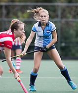 AMSTELVEEN -  Teuntje Horn (Hurley) . Hoofdklasse competitie dames, Hurley-HDM (2-0) . FOTO KOEN SUYK