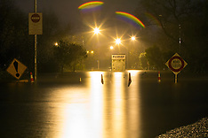 Tauranga-Waimapu River burst its banks causing flooding