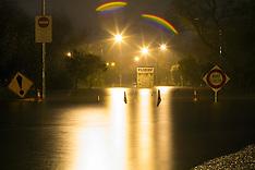 Tauranga-Waimapu River burst its banks causing flooding