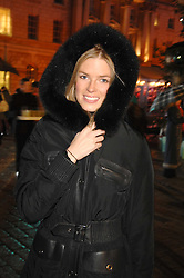 ISABELLA ANSTRUTHER-GOUGH-CALTHORPE at a Winter Party to celebrate the opening of the Ice Rink at Somerset House, London in association with jewellers Tiffany on 20th November 2007.<br />