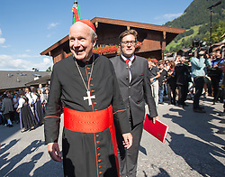 23.08.2015, Alpbach, AUT, Forum Alpbach 2015, Tiroltag, feierliche Eröffnung, im Bild Kardinal Christoph Schönborn // Cardinal Christoph Schönborn during the opening Ceremony of 2015 European Forum Alpbach in Alpbach, Austria on 2015/08/23. EXPA Pictures © 2015, PhotoCredit: EXPA/ Johann Groder