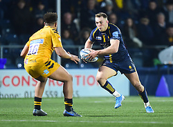 Perry Humphreys of Worcester Warriors - Mandatory by-line: Alex James/JMP - 25/01/2020 - RUGBY - Sixways Stadium - Worcester, England - Worcester Warriors v Wasps - Gallagher Premiership Rugby