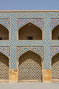 Jameh Mosque aka The Congregational Mosque of Isfahan built from 771 to the end of the 20th century. Isfahan, Iran